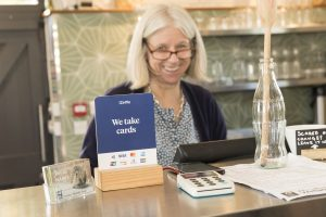 Susie Thornhill, manager of the Coal House Café (credit Penny Dixie)